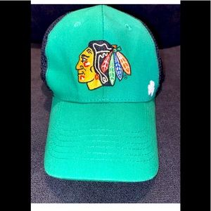 Chicago Blackhawks St Patrick's Day Hat